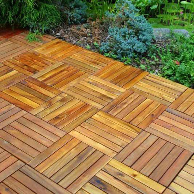 The 25 best interlocking deck tiles ideas on pinterest wood deck tiles patio decks and patio - Interlocking deck tiles on grass ...
