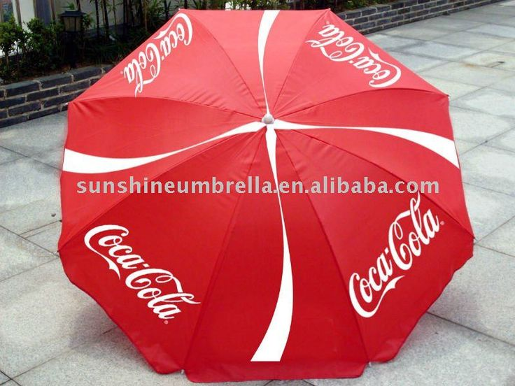 2014 hot promotion advertising beach umbrella $4~$7