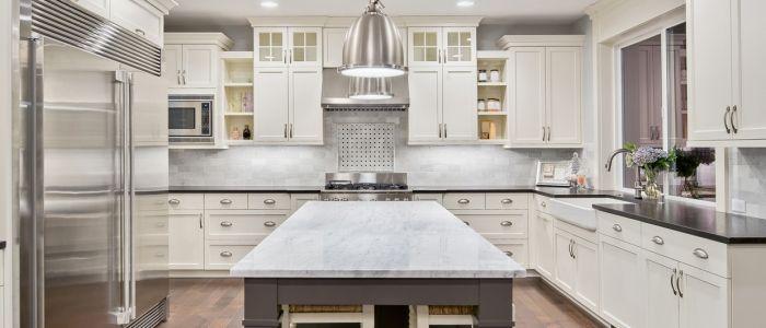 On Trend White Kitchen Inspiration J Rotherham Masonry Limited Bathroomdesignrotherham Kitchen Remodel Small Kitchen Cabinet Trends Kitchen Trends