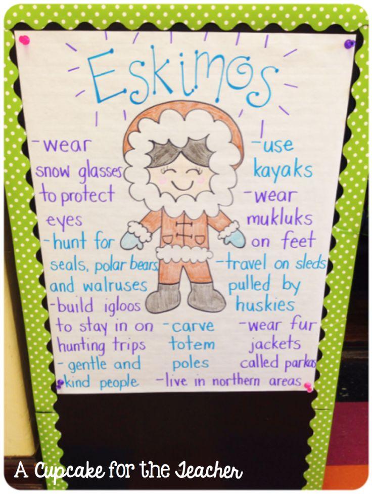 A Cupcake for the Teacher: January Jumble! Eskimos!