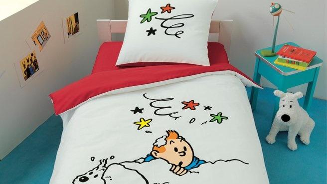 Housse de couette Tintin!!  Housses de couette coups de