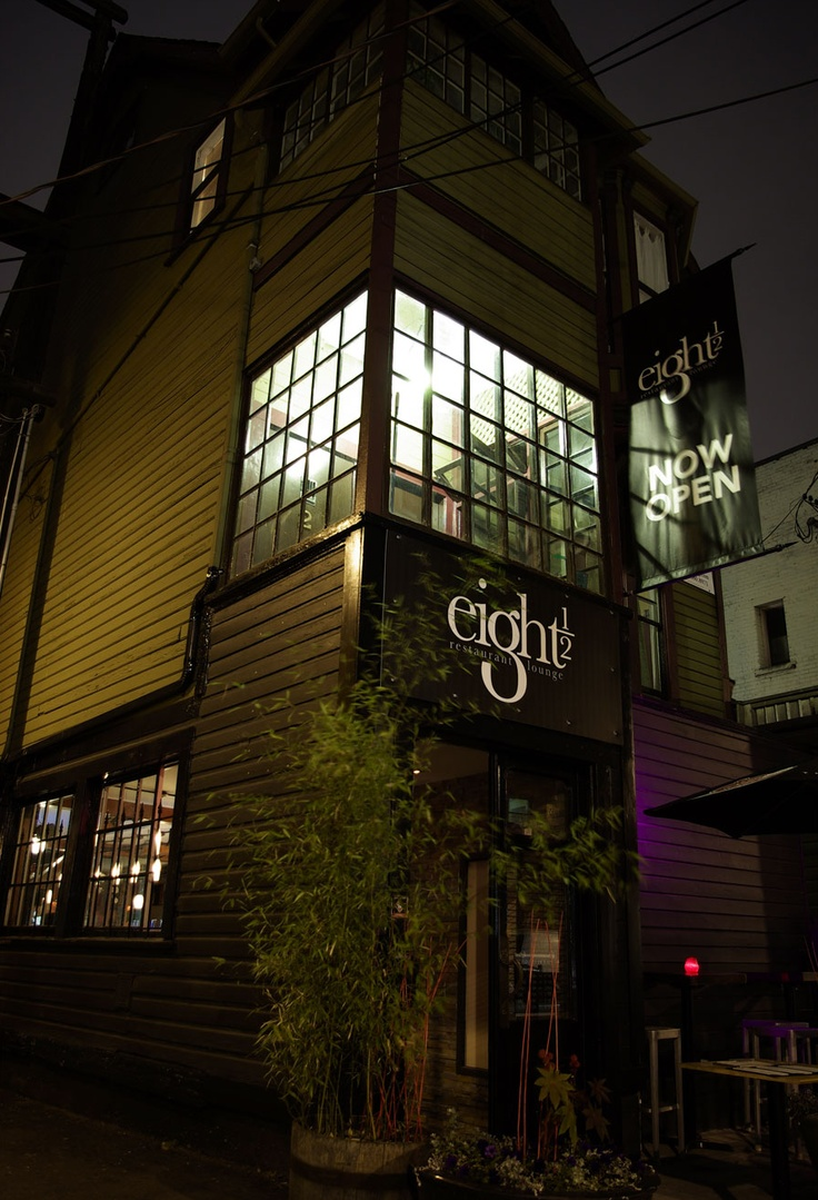 Eight ½ Restaurant Lounge located in Mount Pleasant @ 151 E 8th Ave in Vancouver.