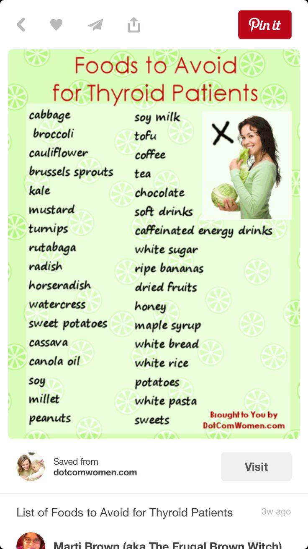 Full list of hypothyroid symptoms - Foods To Avoid Thyroid