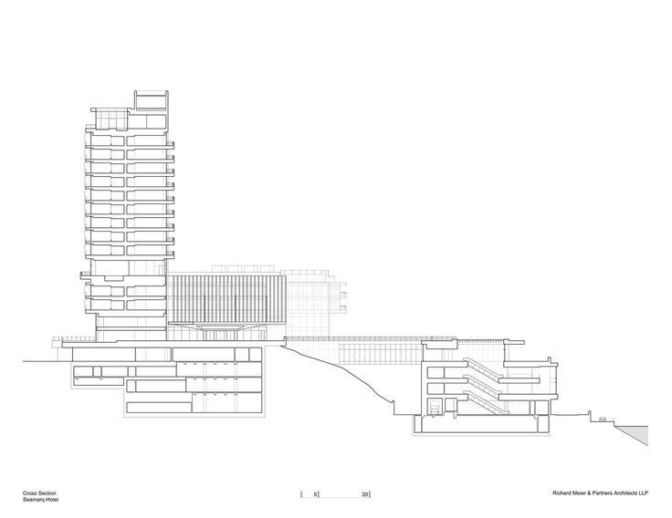 Gallery of Seamarq Hotel / Richard Meier & Partners - 16
