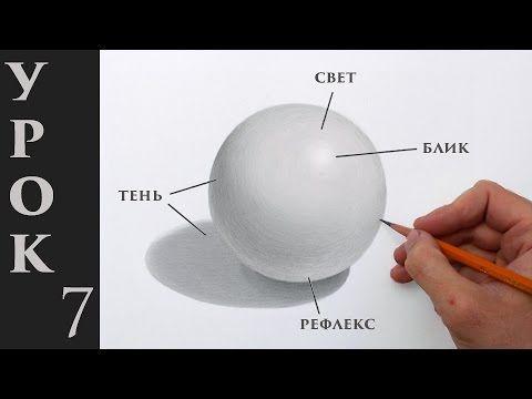 Как оживить рисунок! Основы светотени в рисунке карандашом. - YouTube