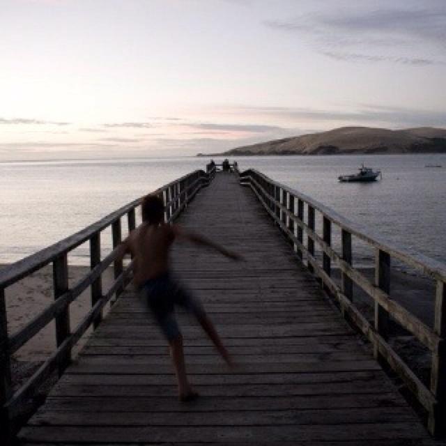 Alexa adores Omapere, NZ