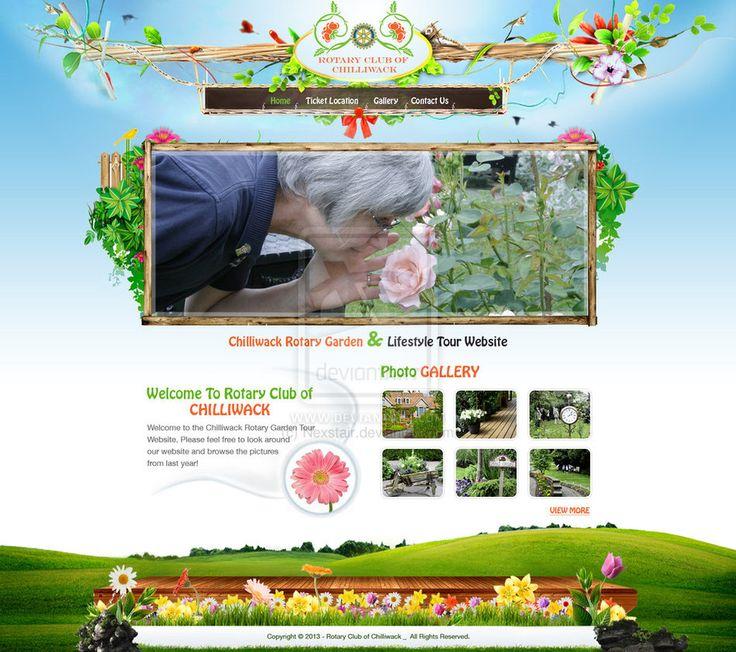 Garden Web Design Gallery 120 Best Web Design Images On Pinterest  Mockup Website Designs .