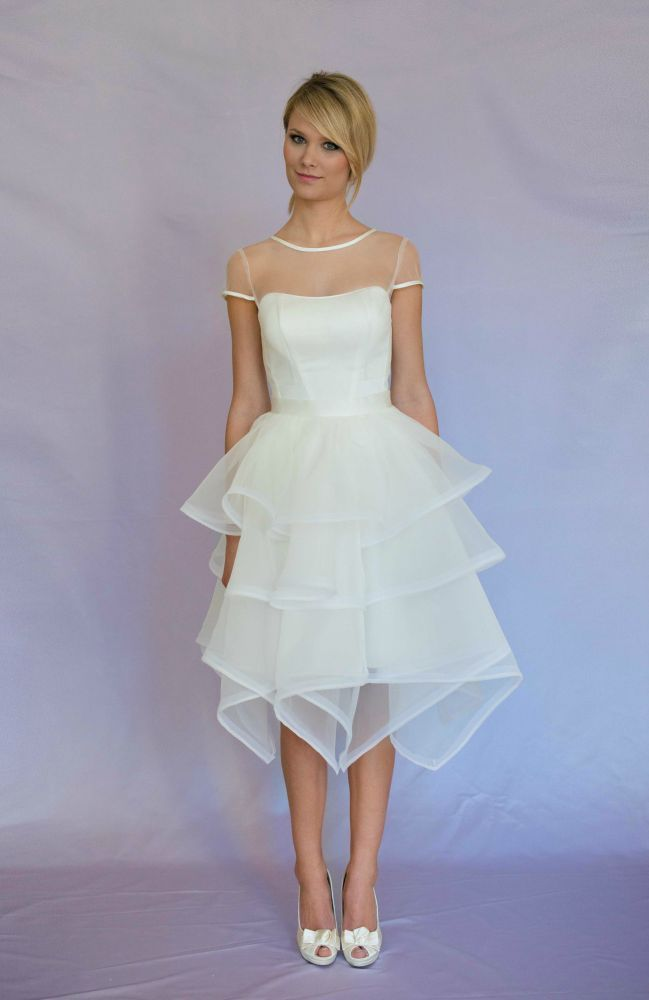 JULIETTE ATELIER krótka sukienka ślubna