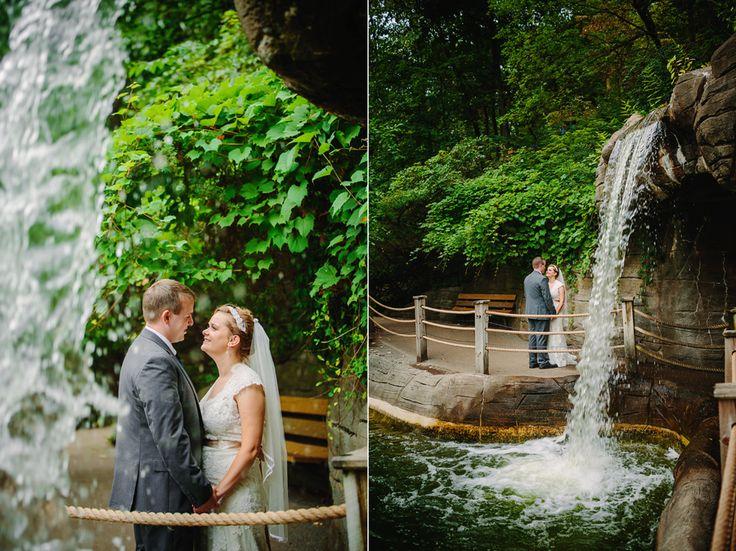 Bis Tree House Wedding John Ball Zoo Weddings Grand Rapids Waterfall Photos