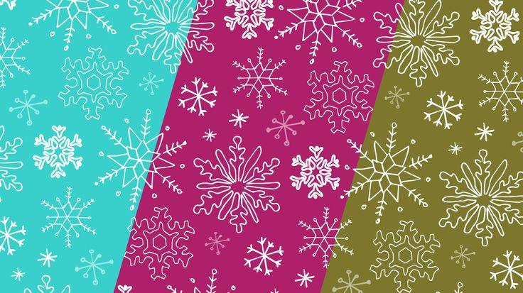 Descarga gratis el papel deco snowflakes de craftingeek, ideal para decorar regalos en una fecha importante como Navidad.