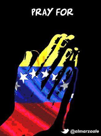 Pray for Venezuela.:
