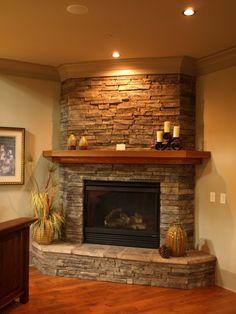 beautiful stone fireplaces   Beautiful Stone Fireplace by Cajun Masonry