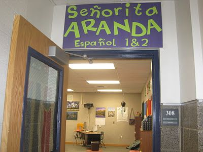 good spanish classroom pics & classroom management ideas