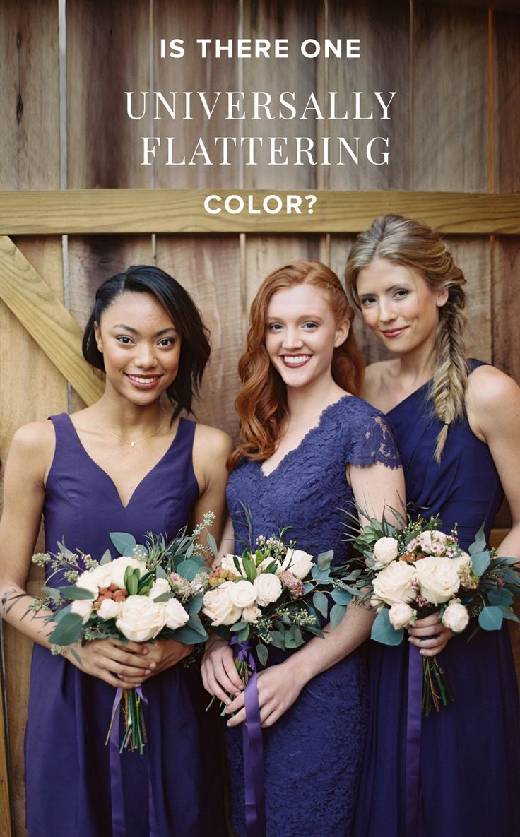 We think so! Keep your gals glam in pretty shades off plum from Weddington Way
