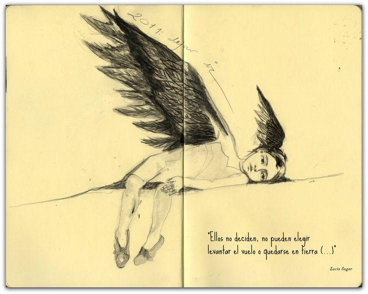 """PÁJAROS MECÁNICOS  -""""Aún hoy nacen niños a quienes los adultos conducen a su antojo, coartando la libertad de leer un determinado libro, ver una película, hablar según con quien... hasta limitarlos al apretado traje hecho a medida con que los pretenden vestir por el hecho de haber nacido en el sitio equivocado. Traje con el que crecerán, se formarán y terminarán siendo amortajados."""" http://suspirarenvioleta.blogspot.com.es/2013/10/pajaros-mecanicos-audio.html"""