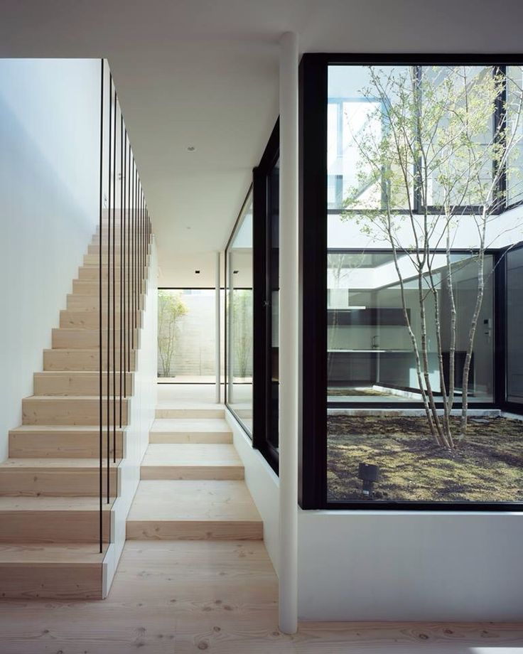 From house entrance - stairs would run alongside the downstairs wall to the garage/laundry/study