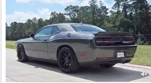 """Bad to bone, or wheel in this case. The 2016 Dodge Challenger SRT Hellcat with an eye-popping 707 hp was developed in secret by a small engineering team. That's right, the most powerful car engine ever developed by America's big three understandably earns her name """"Hellcat."""" Guess what? We have one and she's our #MondayFridayDeal for this week! This seriously defiant car could be yours for the rather submissive price of $56,575 and she only has 3,285 miles on her. #OneBadAssRide"""