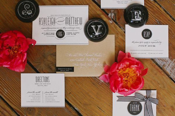 Invitations by Minted.com, styled by StylishSoiree.com photo by Tinywater.com
