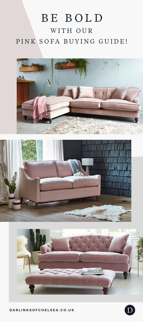 Pink Sofa Living Room Ideas Darlings Of Chelsea In 2020 Pink Sofa Living Pink Sofa Living Room Living Room Sofa