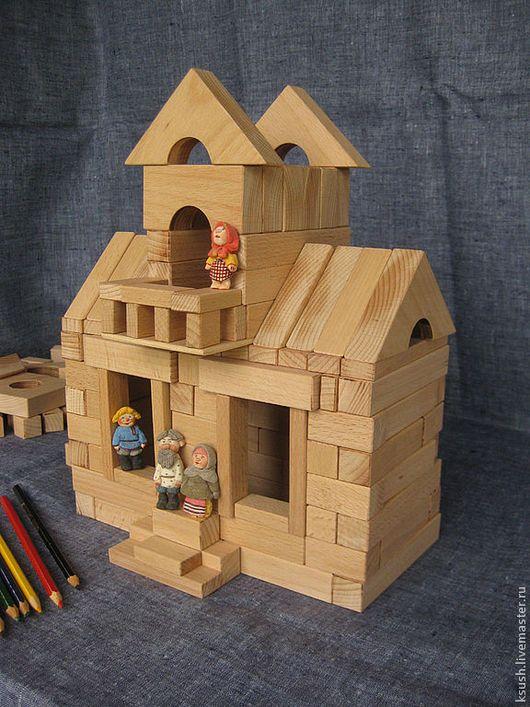 Развивающие игрушки ручной работы. Заказать Конструктор деревянный