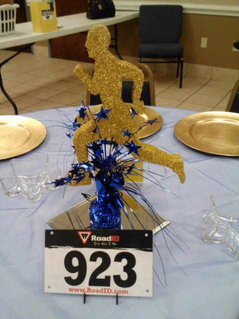 Going the distance centerpiece?