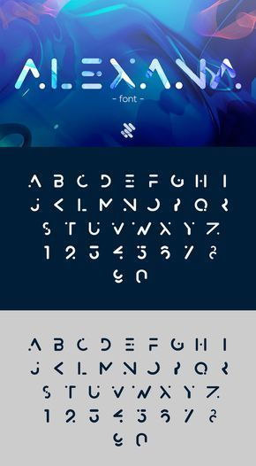 Alexana Font – FREE futuristic modern all caps dis…