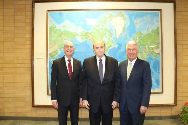 (Source: LDS Church News; By Gerry Avant) —PROVO, UTAH President Thomas S. Monson has a love for missionaries, mission presidents and their wives, and the work they accomplish. That love was evid...