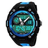 sparen25.de , sparen25.info#10: XLORDX Digital Armbanduhr LED Sportuhr Stoppuhr Wecker Wasserdicht Quarzuhr Taschenuhren Blausparen25.com