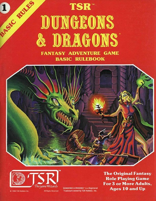 Anyone need to roll the dice tonight? D&D Basic Set Rulebook (B/X ed.) (Basic) - Dungeons & Dragons | Dungeons and Dragons | D&D | DND | AD&D | 1st Ed. | 1e | 1.0 | Basic | Expert