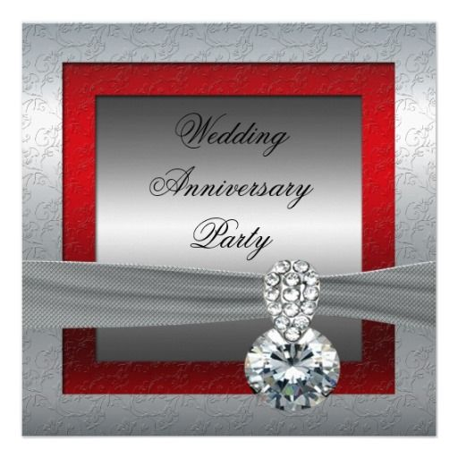 25 Best Ideas About Anniversary Party Invitations On Pinterest