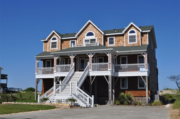 Fish Tales 322 L Nags Head Nc Outer Banks Vacation Rental Home L Oceanfront Home With