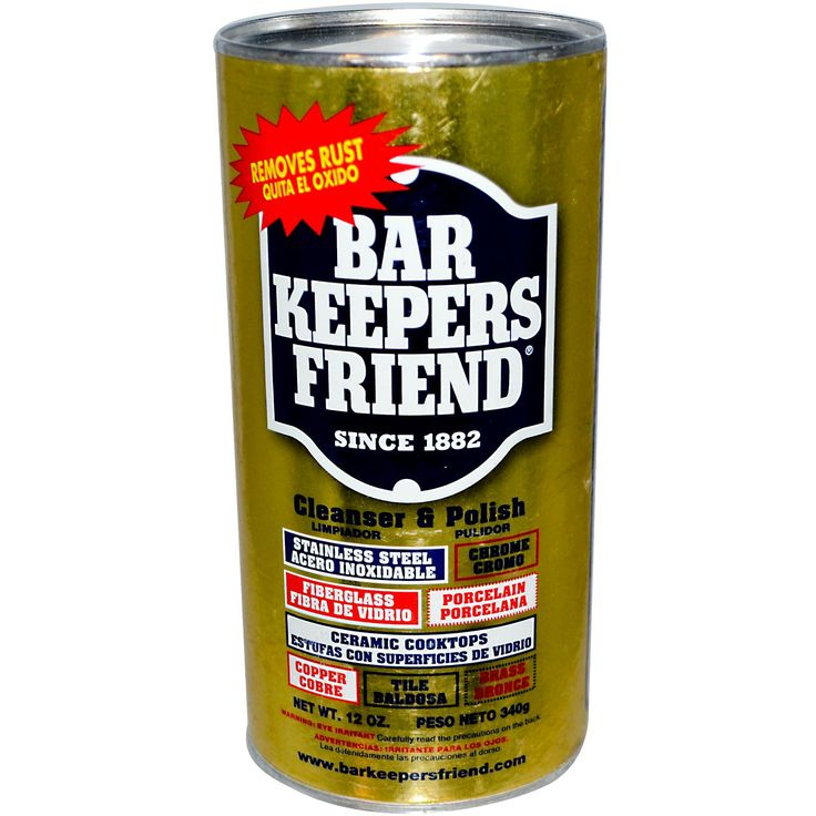 Bar Keepers Friend, Cleanser  Use code BSG128 for up to $10 off Orders over $20 ship free
