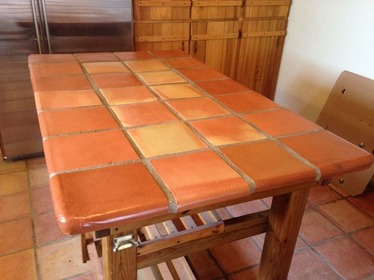 Custom Counter Top Made From Traditional Saltillo Mexican
