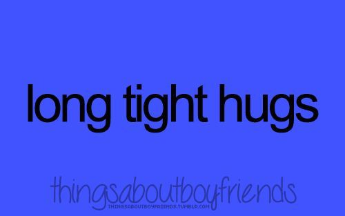 cool Things About Boyfriends. - His strong and warm pro... Best Quotes - cute