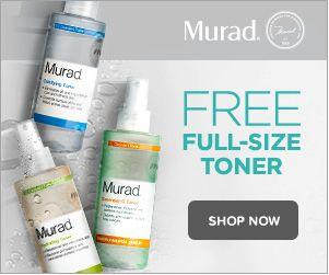 Free Full Size Toner Murad