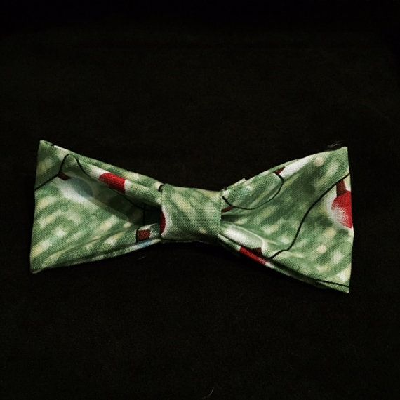 Christmas Lights bow tie! Now ON SALE %50 now $5.00! Christmas clearance sale on now!