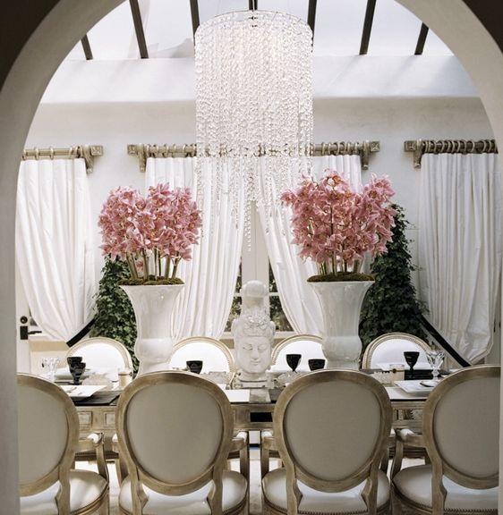 Paris Hilton's Beverly Hills Mansion - Faye Resnick Design