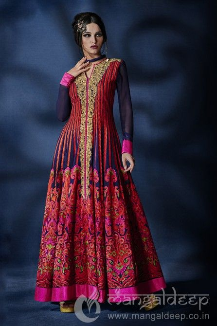 http://www.mangaldeep.co.in/salwar-kameez/extravagant-navy-blue-and-red-ready-made-party-wear-salwar-kameez-4312 For further inquiry whatsapp or call at +919377222211