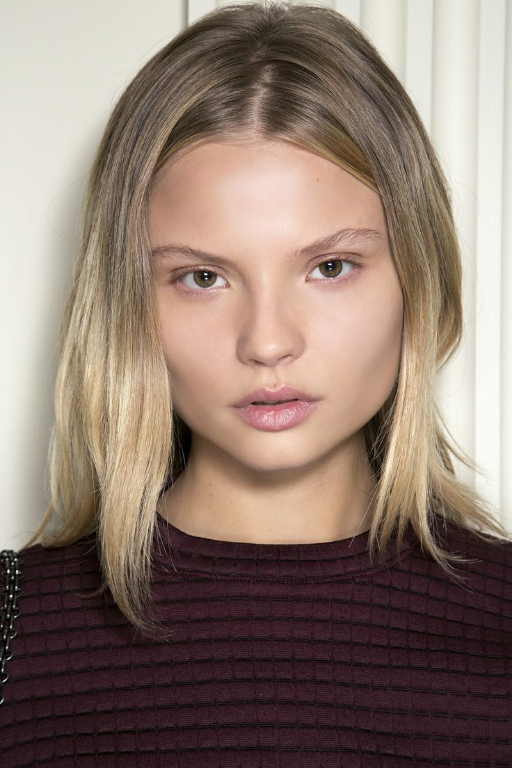 "The ultimate summer beauty look: minimal, bare-faced makeup and ""I woke up like this"" hair. #beauty #natural"