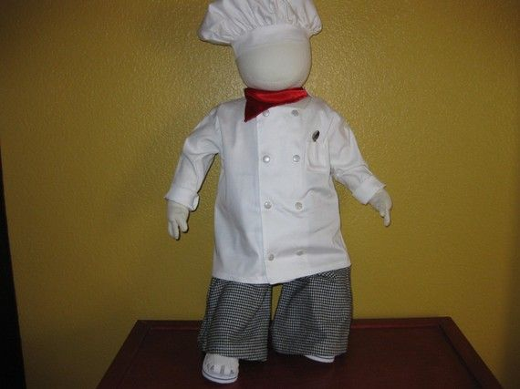 Little Chef Toddler Outfit