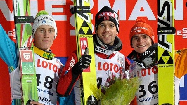 Anders Bardal first at Zakopane ahead of Peter Prevc and Richard Freitag after hard competition of just one round