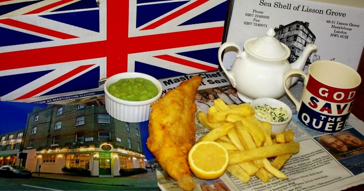 Famous Seashell restaurant in Lisson Grove Marylebone, is the mother of all Fish and chips establishment in London.