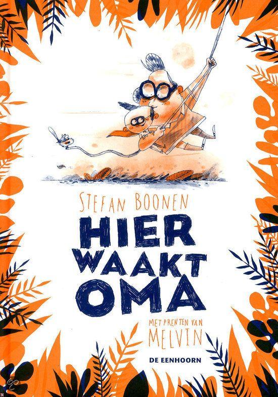 Recensie: Hier waakt oma (8+) http://www.kiddowz.net/boeken/recensie-hier-waakt-oma-8/ Boek 26/53 #boekperweek