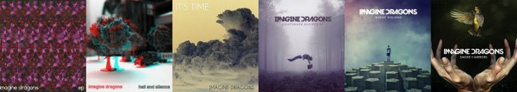 All of the albums so far (Yes Smoke + Mirrors is the second album projected to release on February 17th)