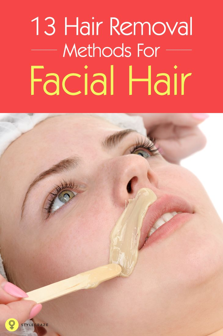 Removing facial hair can be quite painful, since the hair is removed from the roots. Here are some common facial hair removal methods for you. #hairremoval