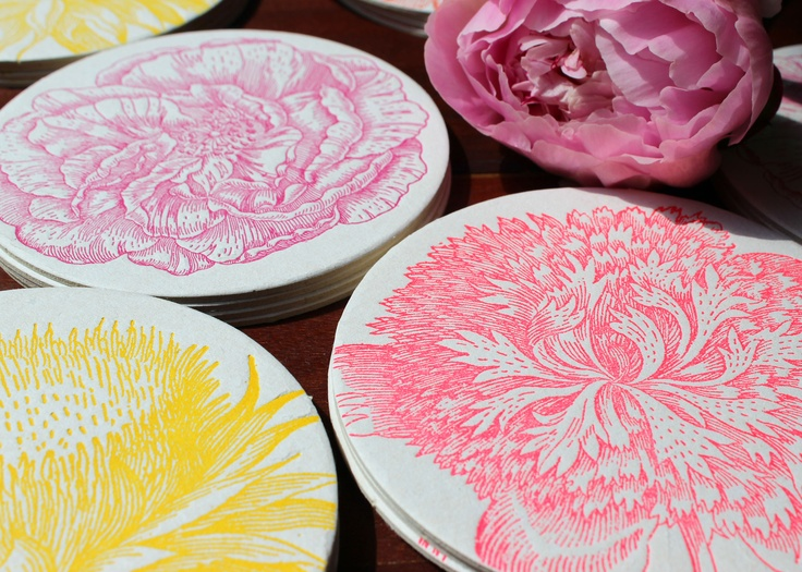 Spring is in the air! And we're celebrating with a beautiful range of bright floral coasters!