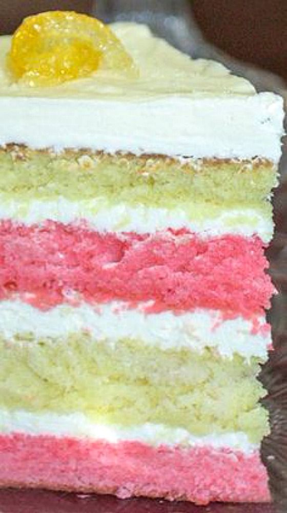 Raspberry Layer Cake.