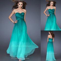 Online Shop Vestido de Festa Longo Hot & Sexy Fashion Colorful Sweetheart Criss-Cross Chiffon Evening Dresses Long Prom Dresses 2014|Aliexpress Mobile