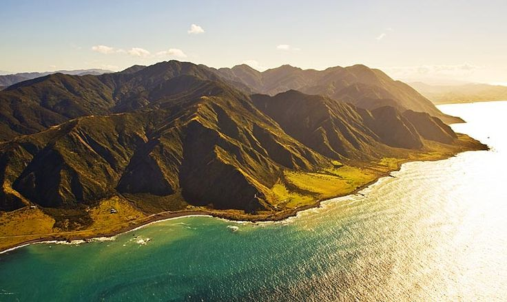 Cape Palliser, spot the lighthouse,  see more at New Zealand Journeys app for iPad www.gopix.co.nz