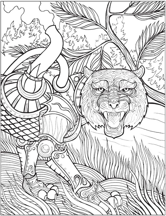 Welcome To Dover Publications Steampunk Animals Coloring Book